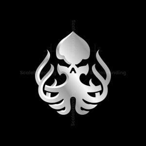 Kraken Skull Logo
