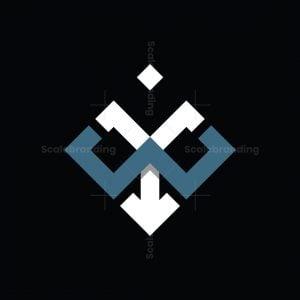 Abstract Yw Wy Logo