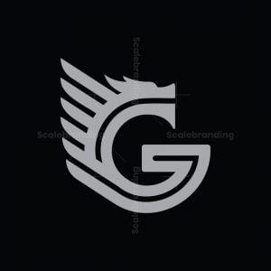 Letter G Dragon Logo
