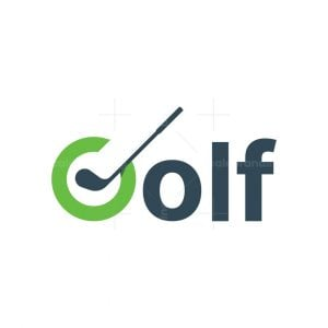 Letter G Golf Logo