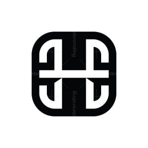 Letter H Ee Ehe Logo
