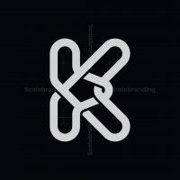 Letter K Knot Logo