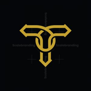 Letter T Luxury Logo