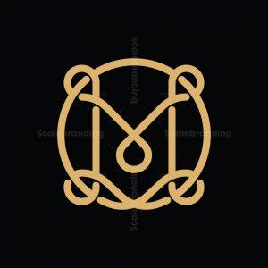 Letter M Knot Logo