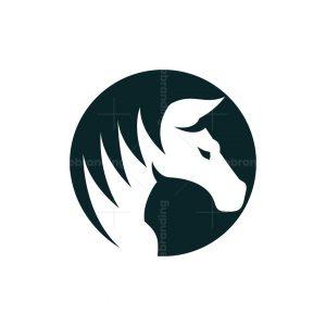 Modern Horse Logo
