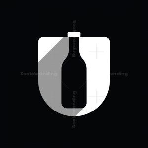 Letter U Bottle Logo