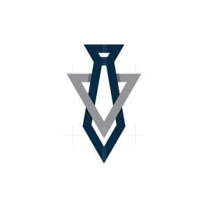 Letter V Leader Logo