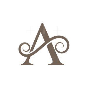 Letter A Stylish Logo