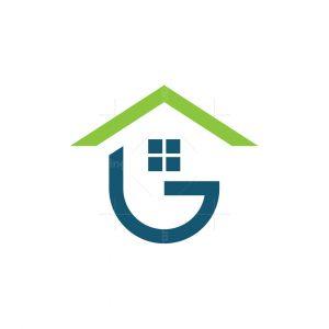 Letter G Home Logo
