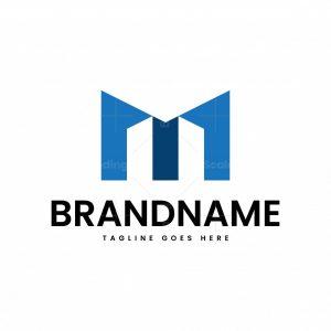 Letter M Building Logo