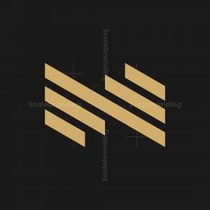 Letter N Real Estate Logo