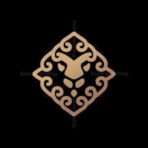 Lion Ornament Logo
