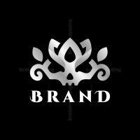 Lotus Skull Logo