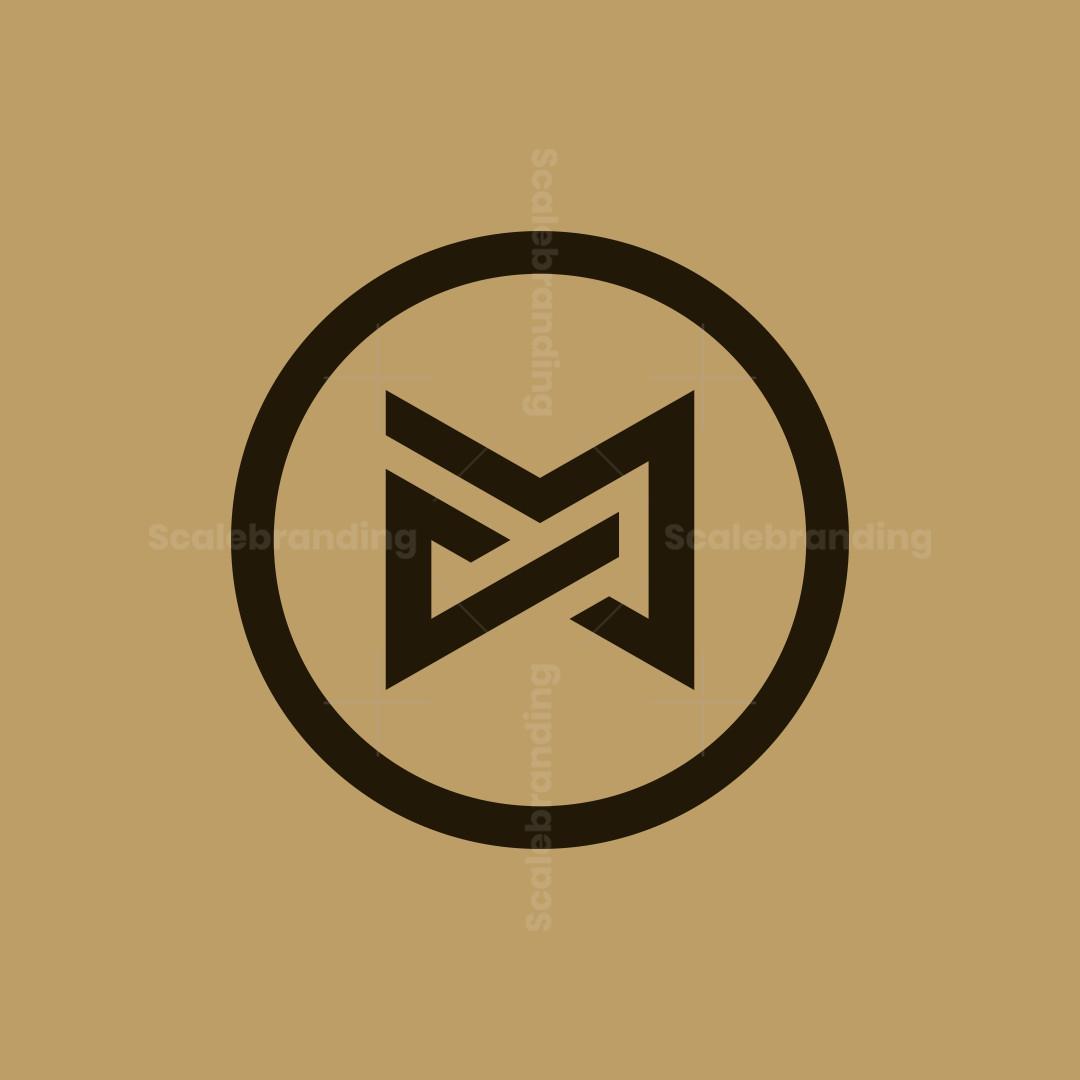 Luxury Cm Mc Monogram Logo