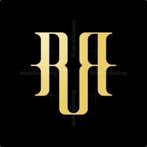 Luxury Rr Monogram Logo