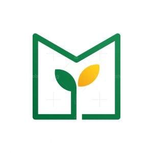Plant M Letter Logo