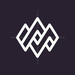Ma Am Luxury Monogram Logo