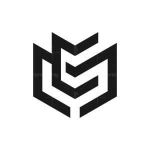 Mc Cm Monogram Logo