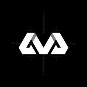 Mv Vm Monogram Logo