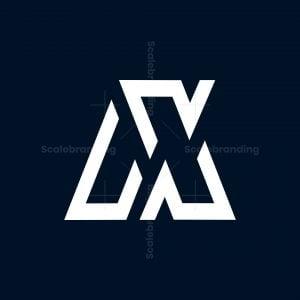 Mx Or Mn Initial Logo