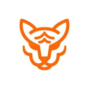 Majestic Tiger Head Logo