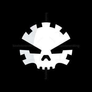 Mechanic Skull Logo