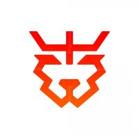 Minimalist Tiger King Logo