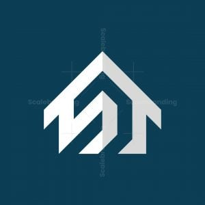Modern House Real Estate Logo