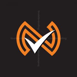 N Check Mark Logo