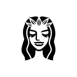 Nature Beauty Woman Logo