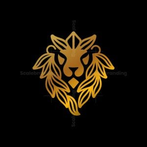 Nature King Lion Logo