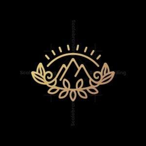 Nature Mountains Logo