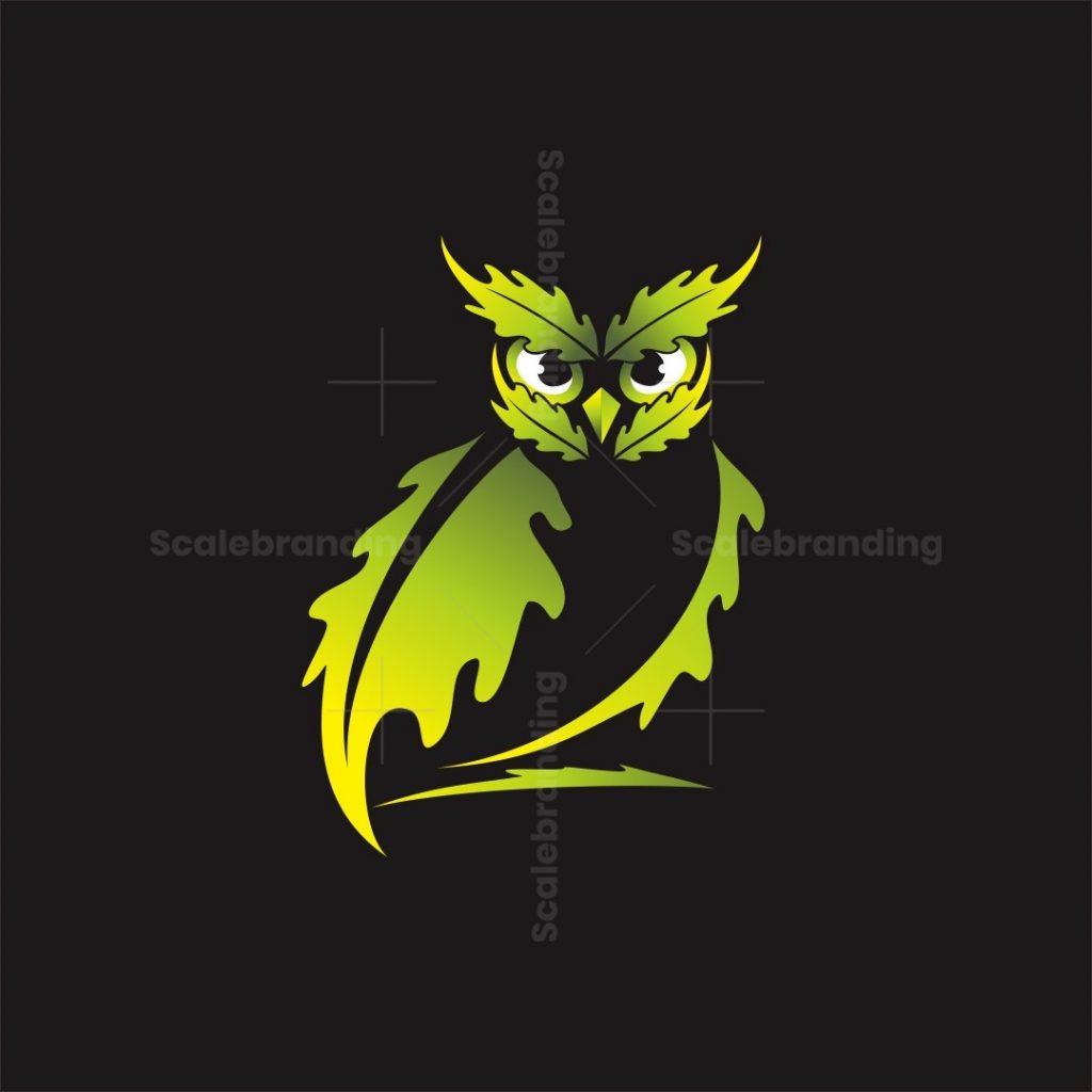 Oak Owl Logo