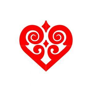 Ornament Love Logo