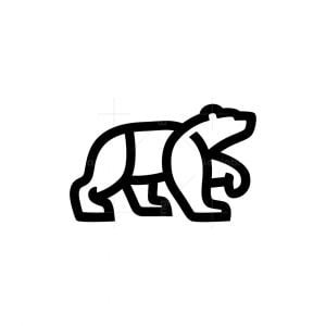 Outline Bear Logo