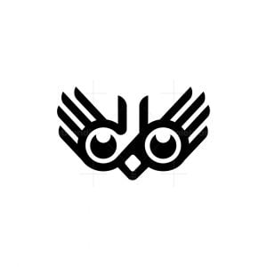 Owl And Hands Logo