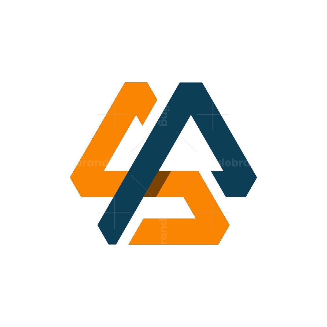 Ps Sp Modern Monogram Logo