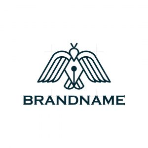 Pen Bird Logo