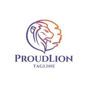 Proud Lion Logo