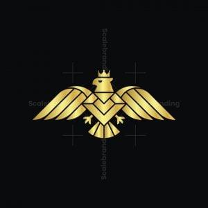 Royal Diamond Eagle Logo