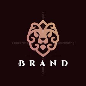 Royal Lion Head Logo