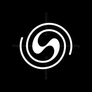 S Letter Swirl Logo