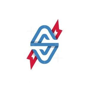 S Ribbon Logo
