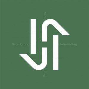 Sh Initial Logo