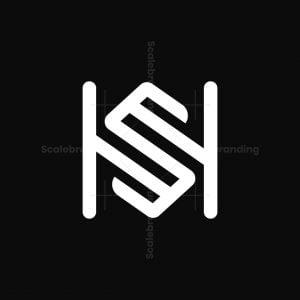 Sh Monogram Logo