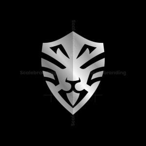 Secure Lion Head Logo