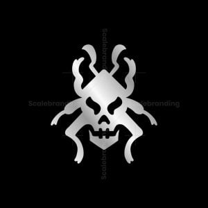 Skull Bug Logo