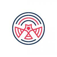 Star Headed Eagle Logo