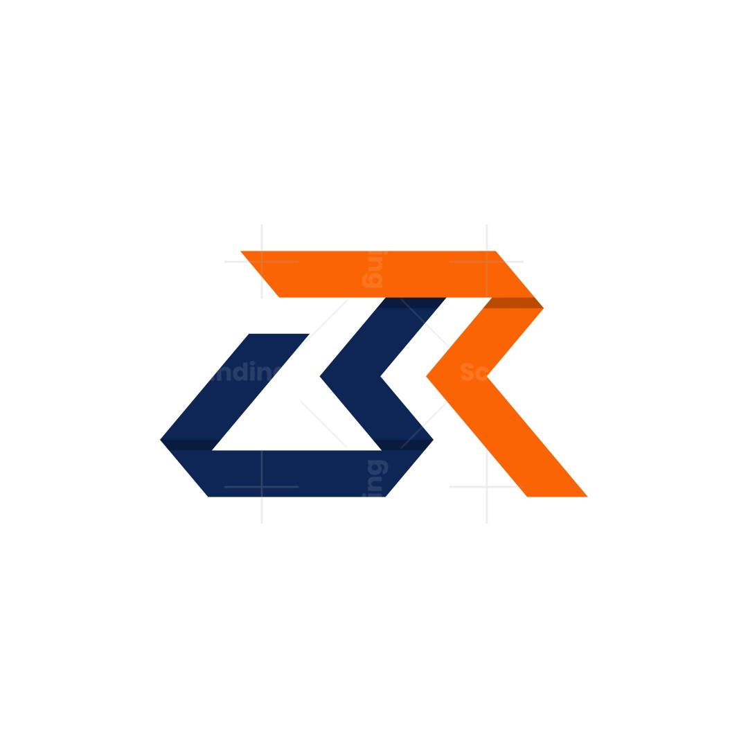 Stylish Br Rb Monogram Logo