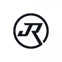 Stylish Letter Jr Logo